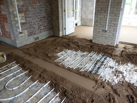 Cтяжка пола ремонт квартир в Долгопрудном